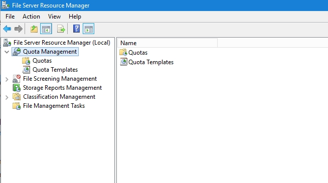 QnA VBage How to Implement File System Quotas in Windows Server