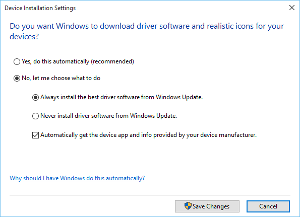 Stop automatic driver updates on Windows 10 | IT Pro