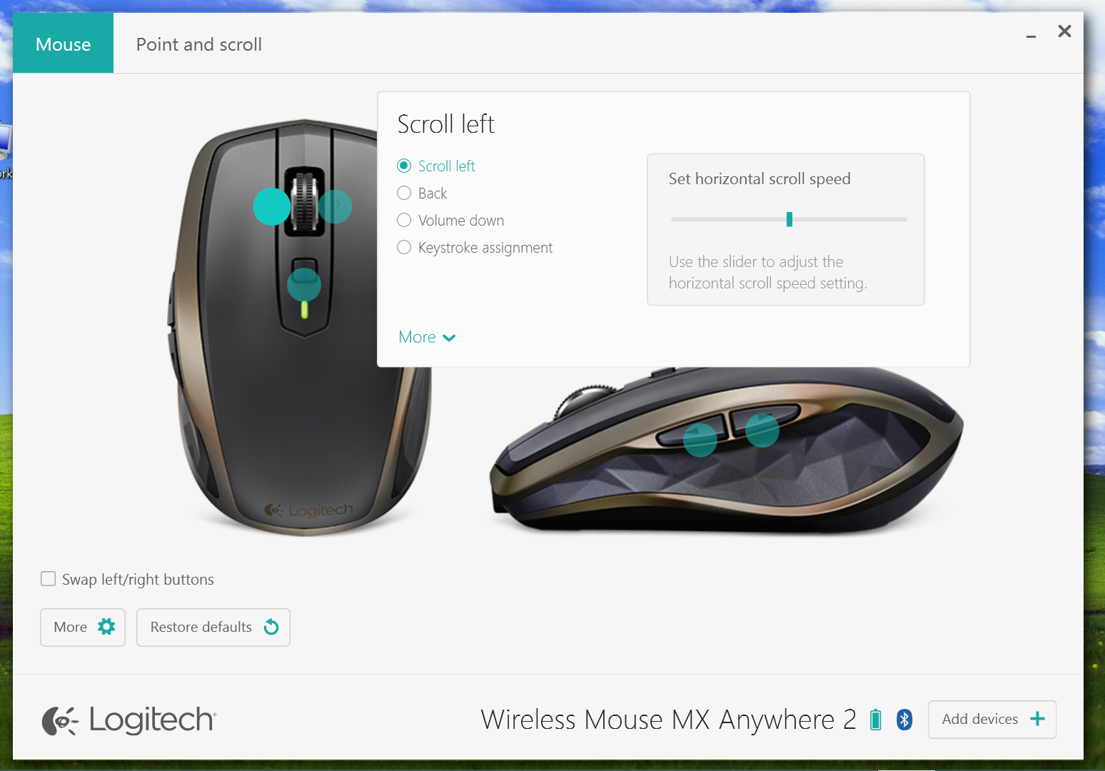 Gallery: Logitech Options Software for MX Anywhere 2 Wireless Mobile