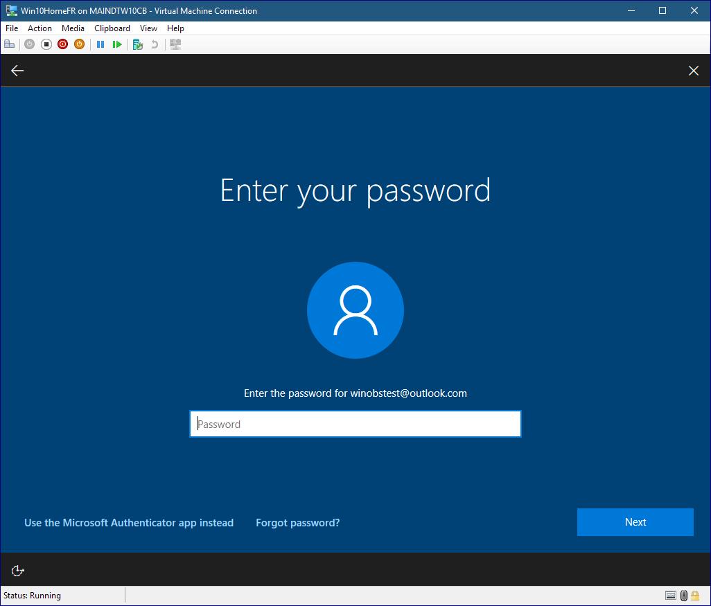 reset password xp virtual machine