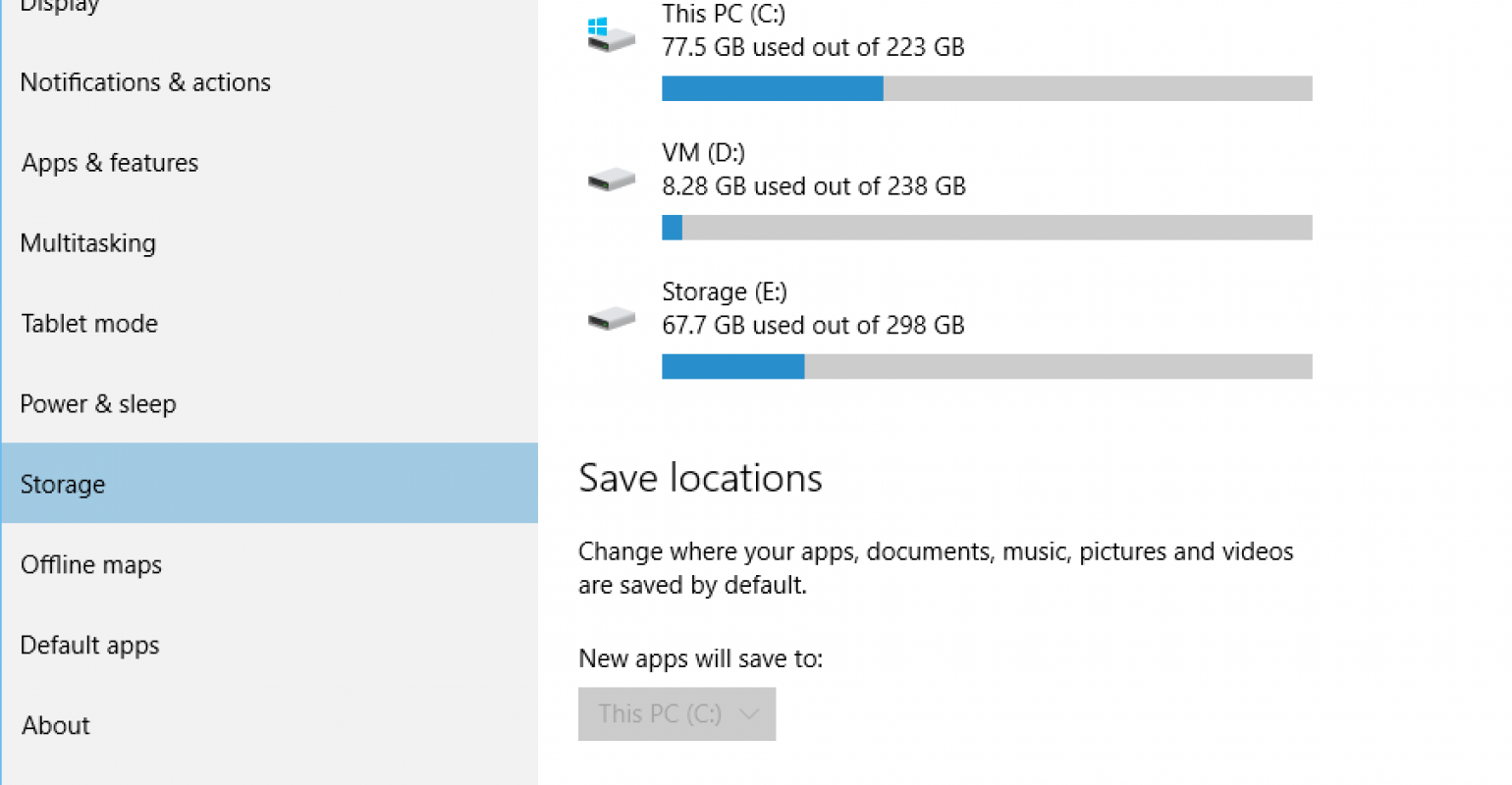 How to change your default save locations on Windows 10 | IT Pro