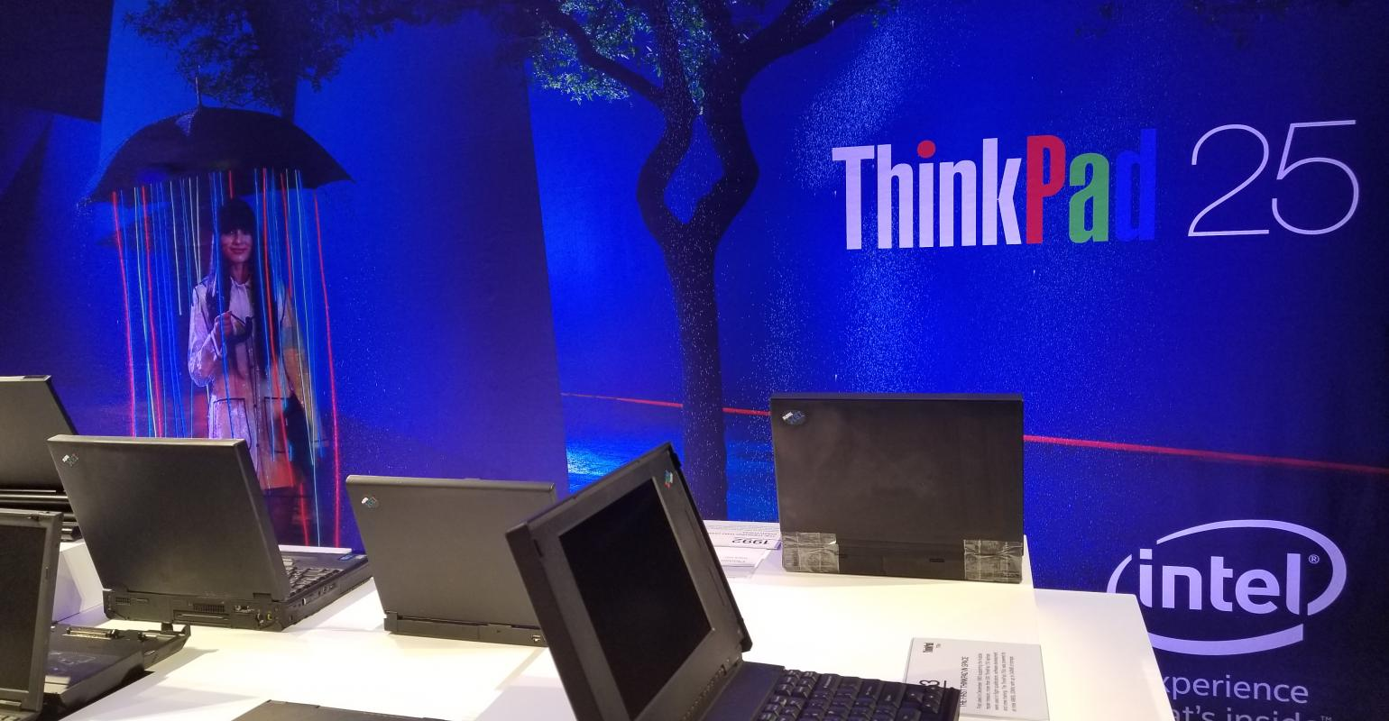 Hardware | The unique look of ThinkPad over the years is