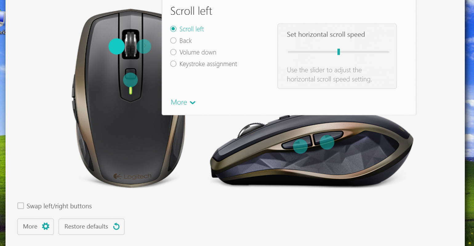 Gallery: Logitech Options Software for MX Anywhere 2