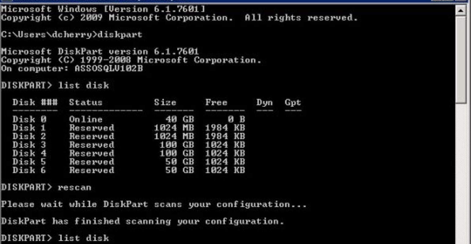 Formatting and Resizing Partitions with Diskpart | IT Pro