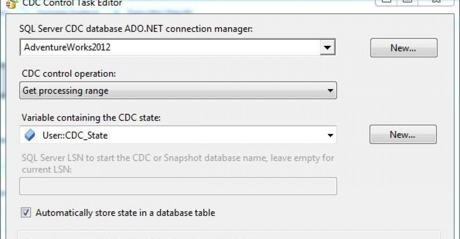 Combining CDC and SSIS for Incremental Data Loads | IT Pro