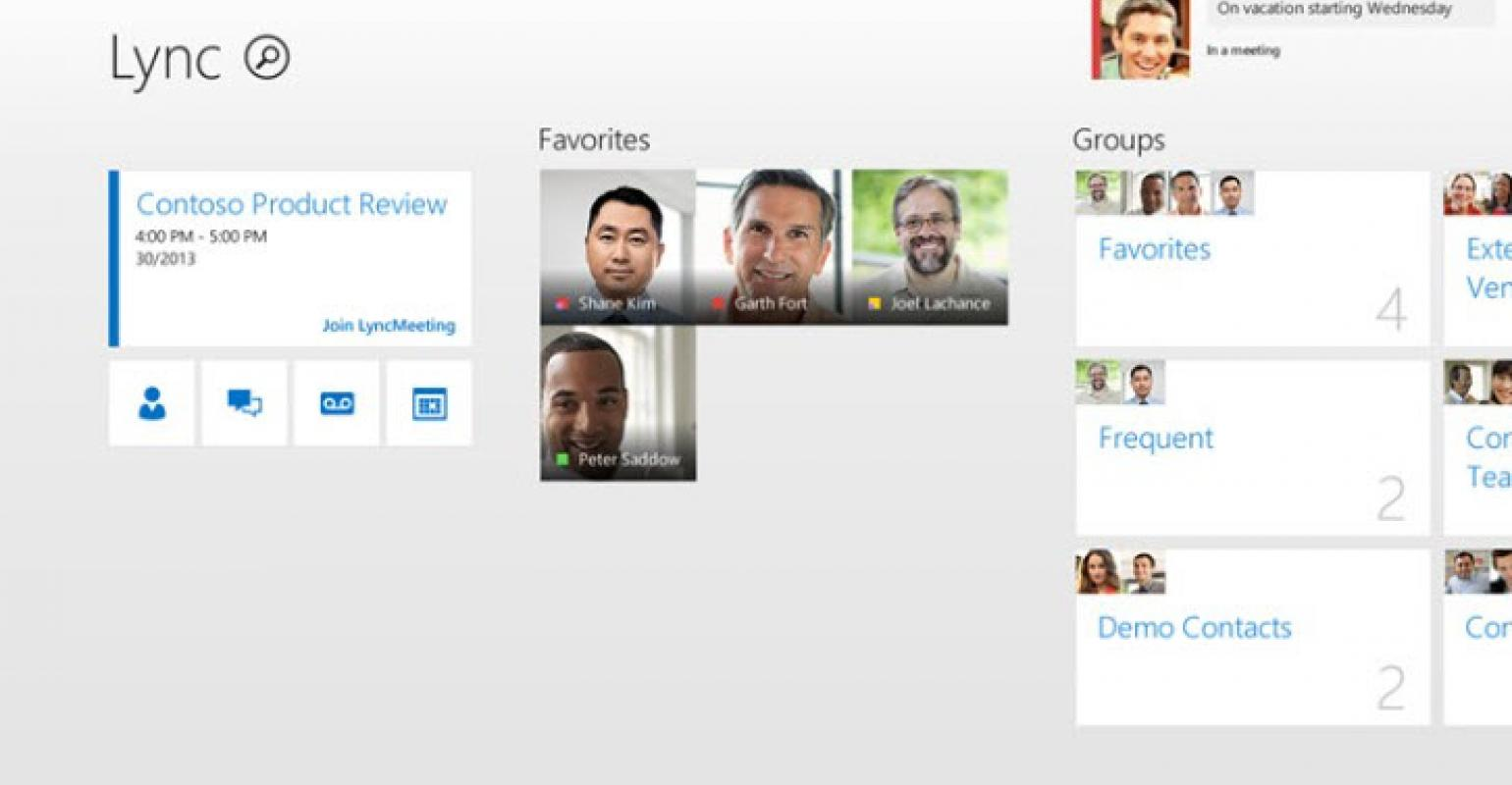 Microsoft Lync App Updated for Windows 8 1 | IT Pro