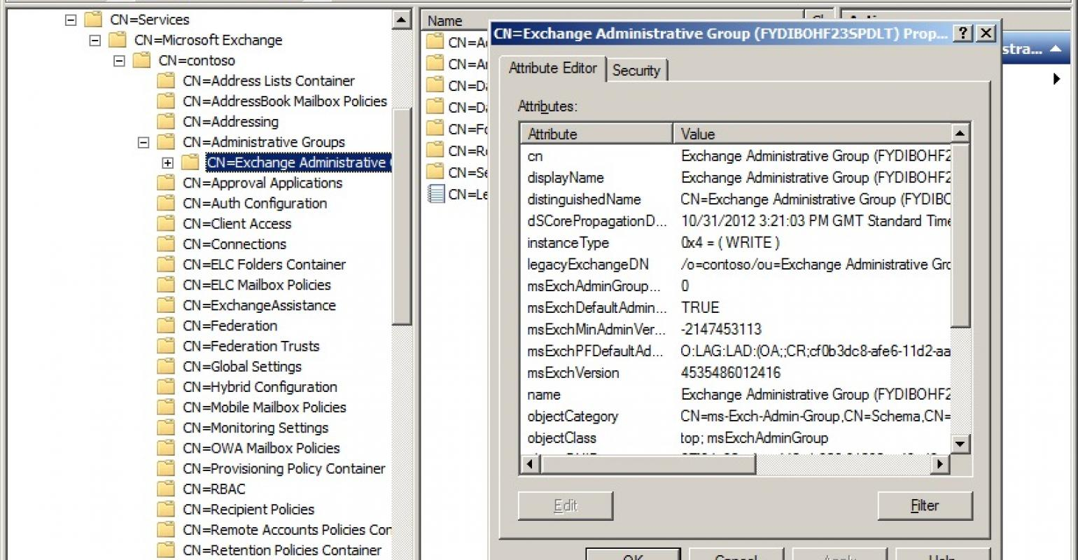 Active Directory and Exchange - too tight for a rename | IT Pro