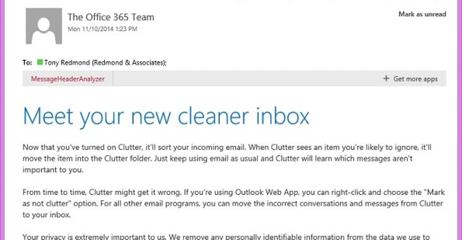 Clutter arrives to impose order on Office 365 mailboxes | IT Pro