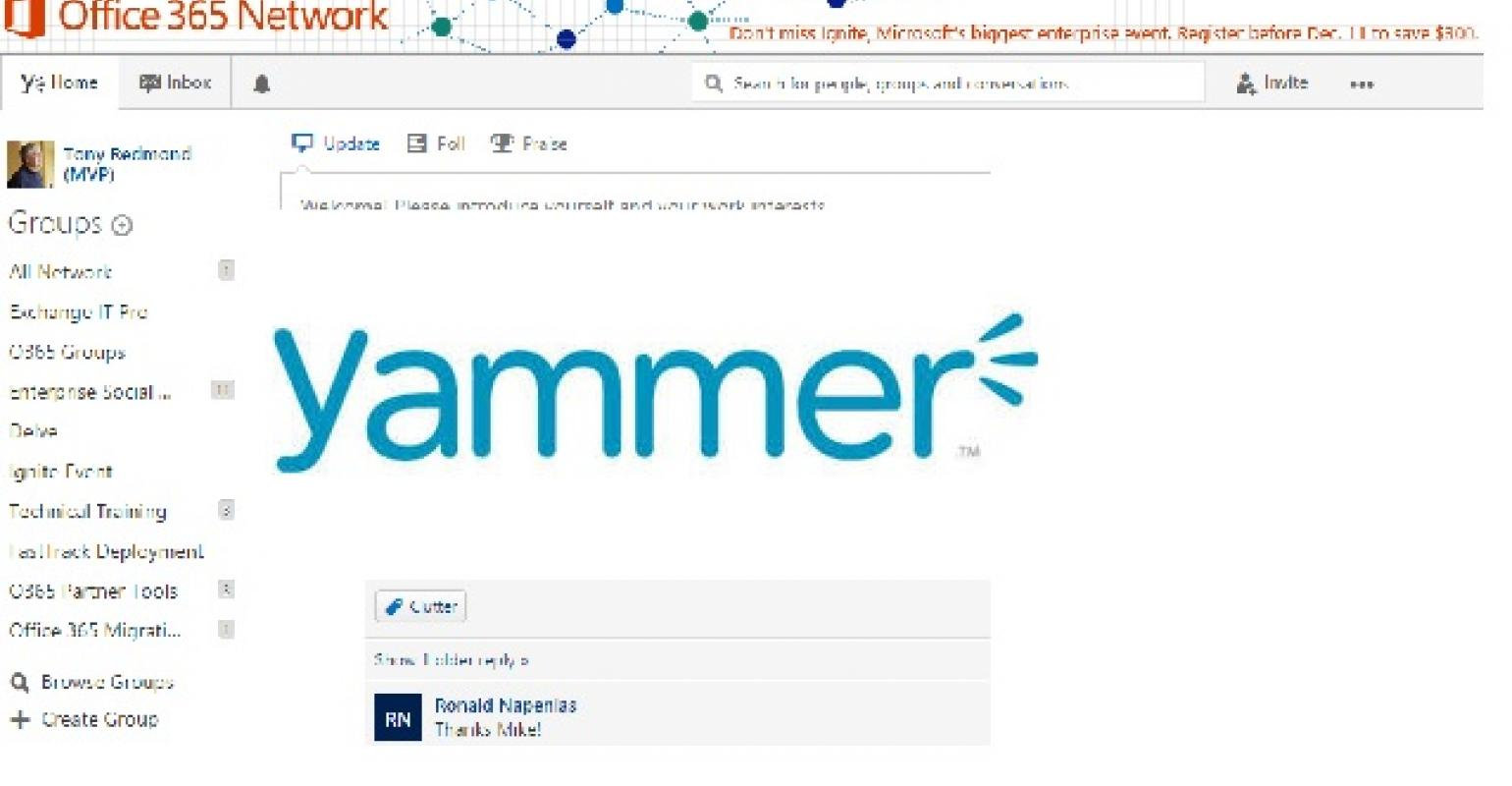 The Confusion around Yammer and Office 365 Groups | IT Pro