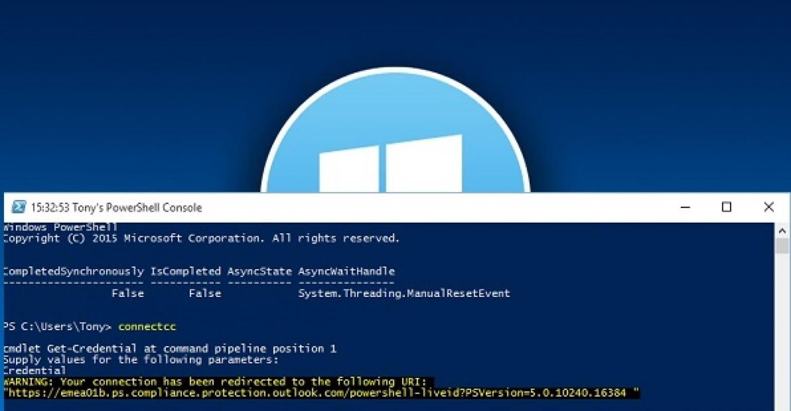 Windows 10 Build 10525, PowerShell, and Office 365 | IT Pro