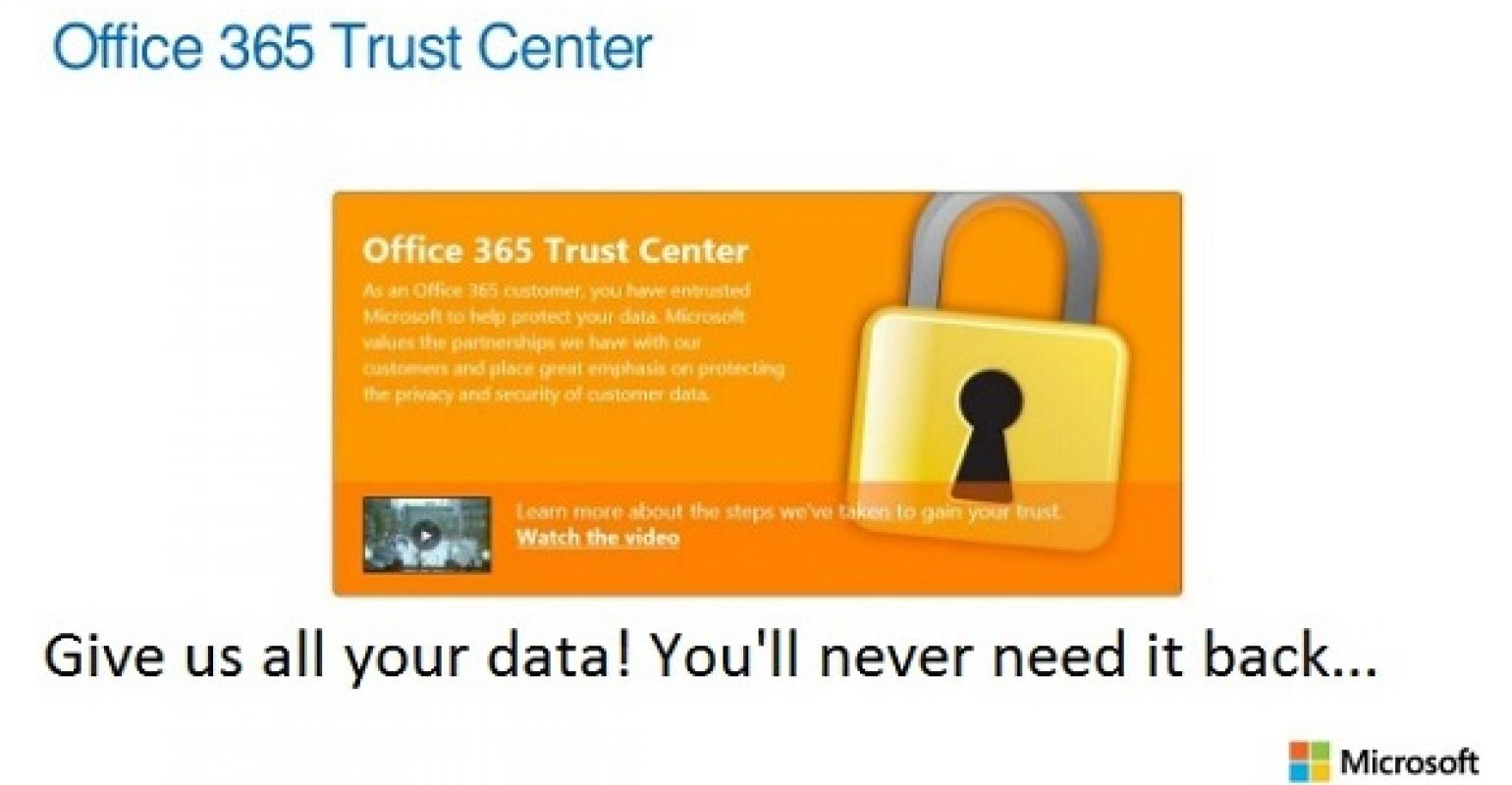 Getting data into Office 365 is easy
