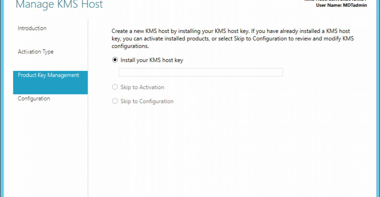 Solve machine activation problems with KMS | IT Pro