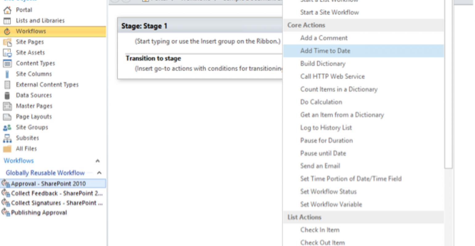 Workflows In Sharepoint It Pro
