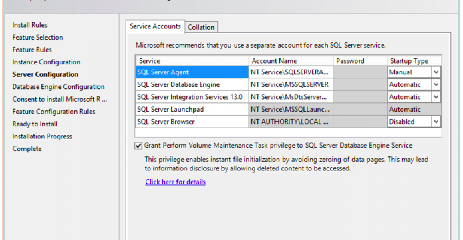 First Impressions of the New SQL Server 2016 Installation