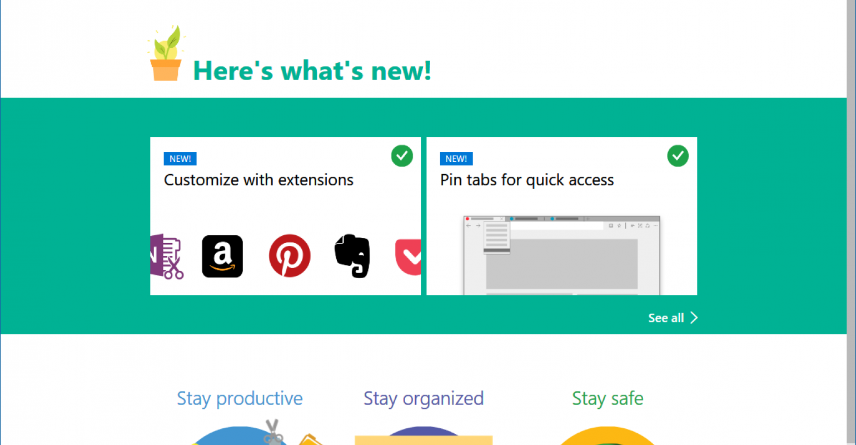 Web | Microsoft Edge gained some new capabilities to make