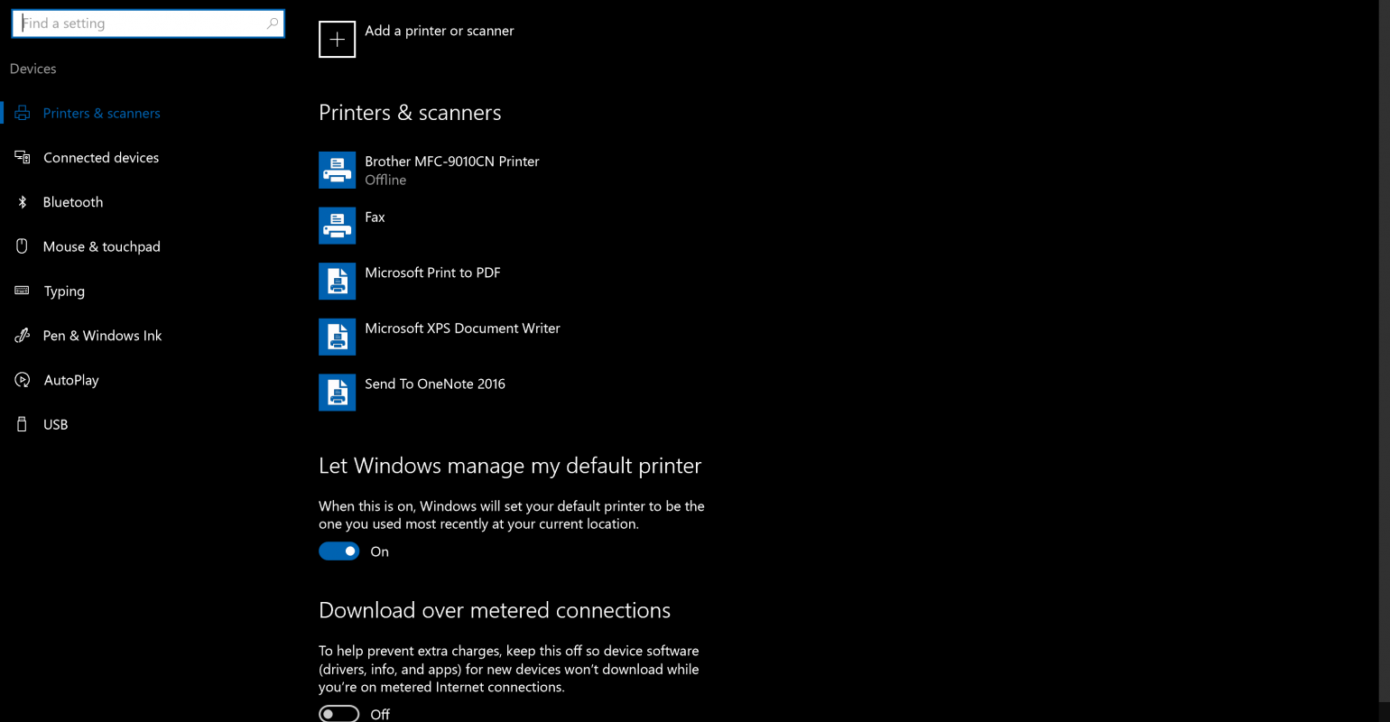 Hardware | Manually add a printer to your Windows 10 system