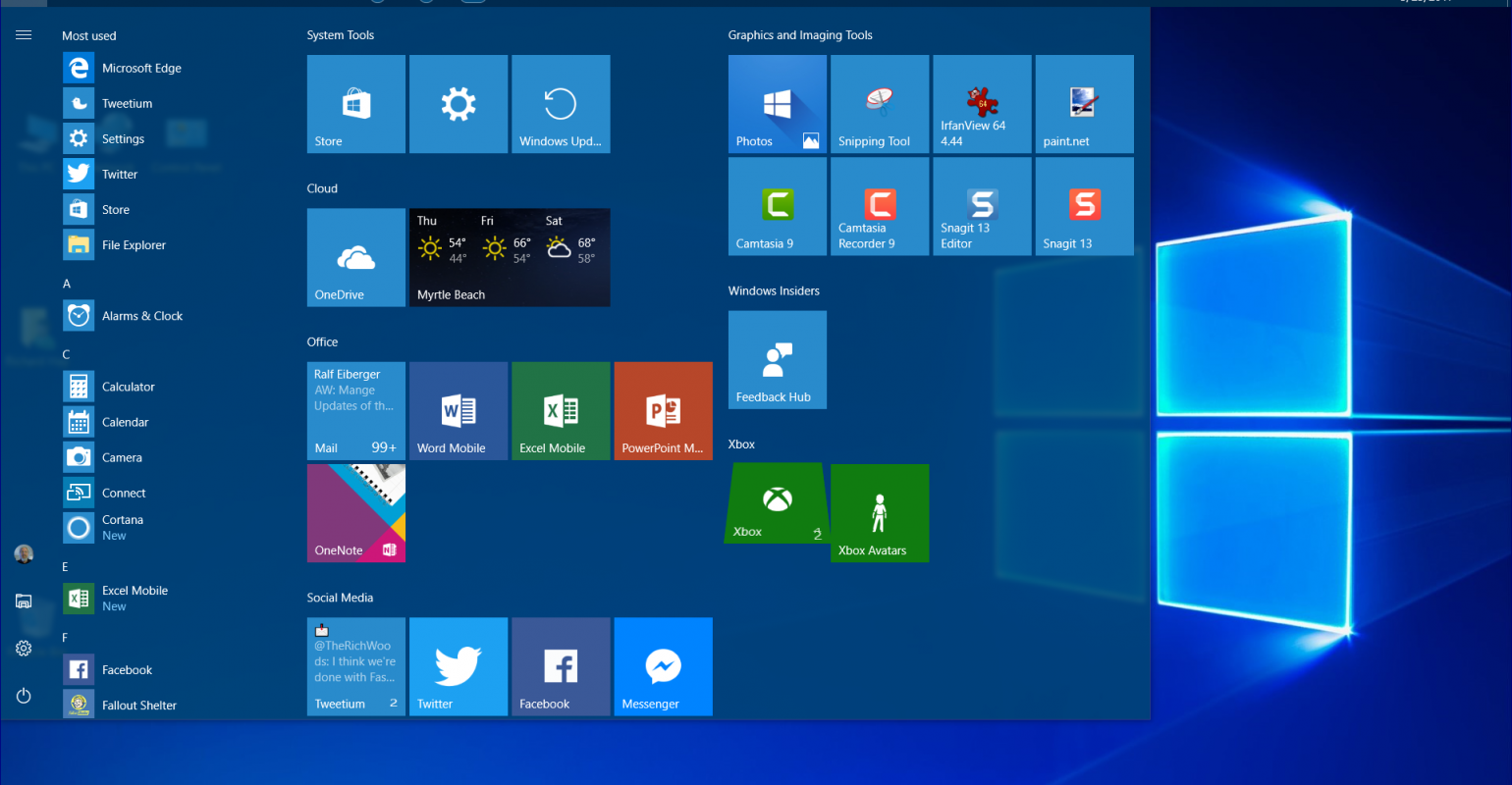 Windows 10   The next step towards General Availability of