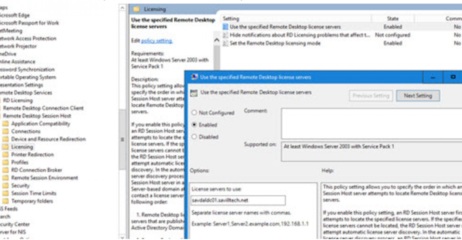 Configure RD Licensing Server via group policy | IT Pro