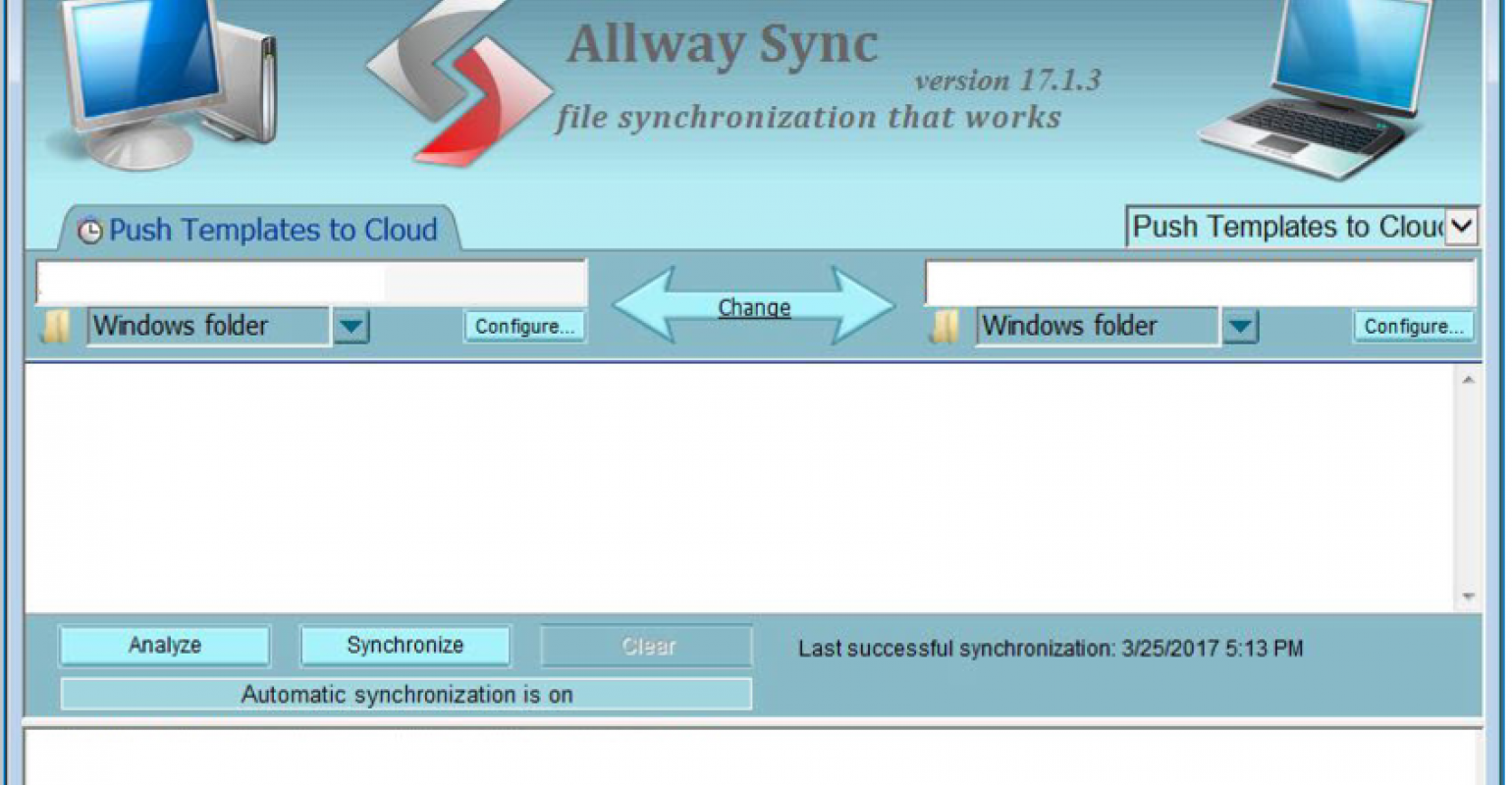 How to synchronize custom templates in SQL Server between