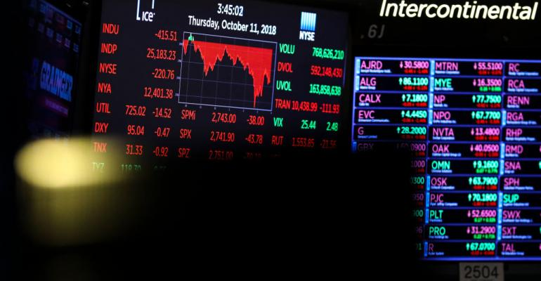 wall street stock market technology ai