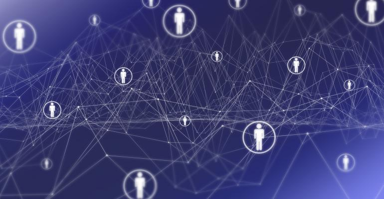 worldwide social media network of influence