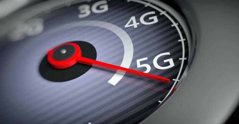 5G on speedometer