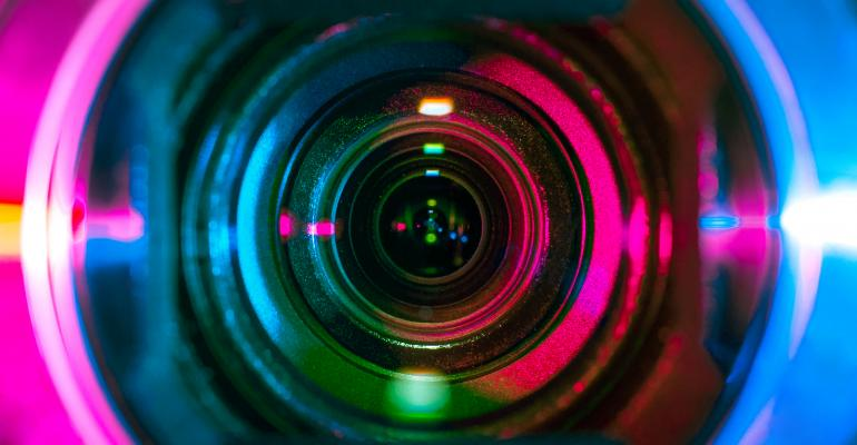 camera lens watching you surveillance