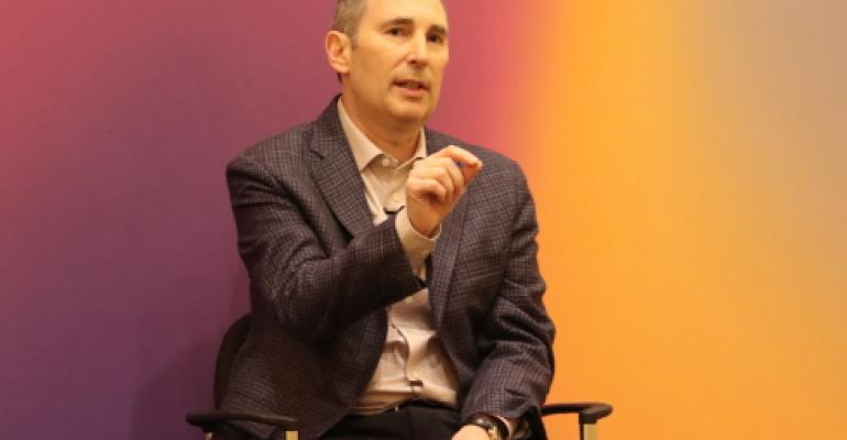Andy Jassy, promoted to CEO of Amazon in February 2021