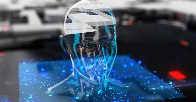 Artificial intelligence cyborg