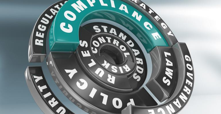 Concept image of compliance