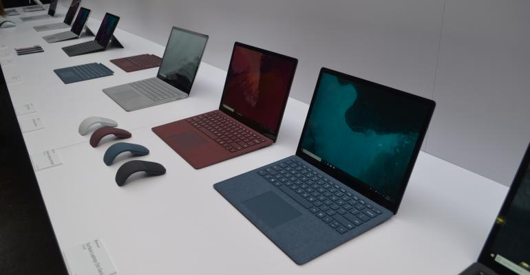 Microsoft's new Surface lineup