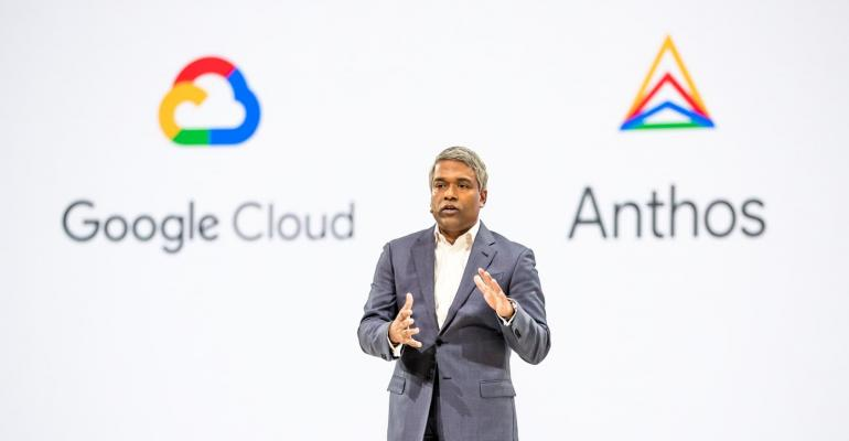 Google Cloud CEO presents at Google Cloud Next 2019 in San Francisco