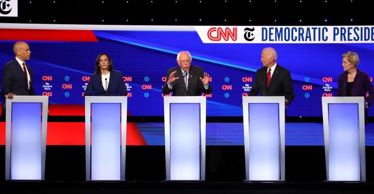 cnn nyt democratic presidential debate