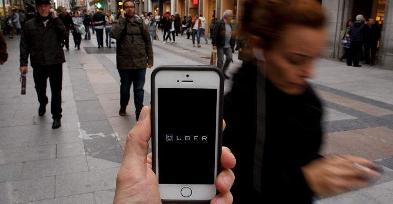 A user accesses Uber and lives to regret it when hackers take his data