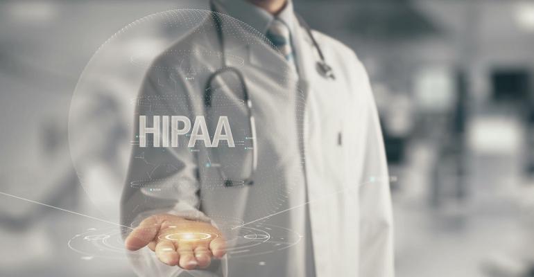 HIPAA-compliant data management