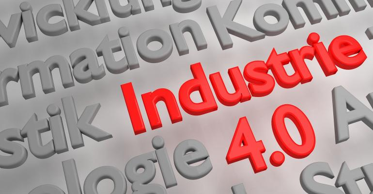 Concept art of Industrie 4.0