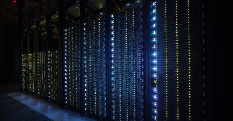 Inside a Rackspace data center