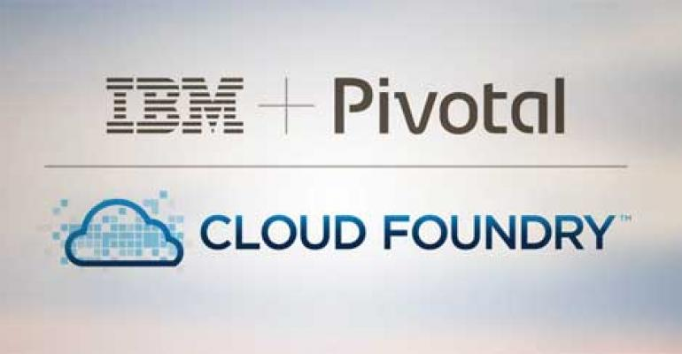 IBM, Pivotal Team to Boost CloudFoundry