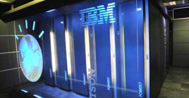 The IBM Watson supercomputer that played Jeopardy!