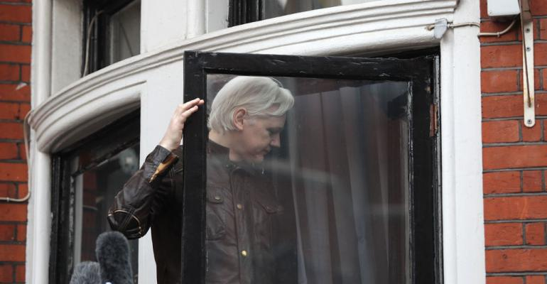 Julian Assange, founder and former editor-in-chief of WikiLeaks