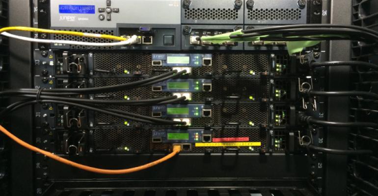 Juniper network gear