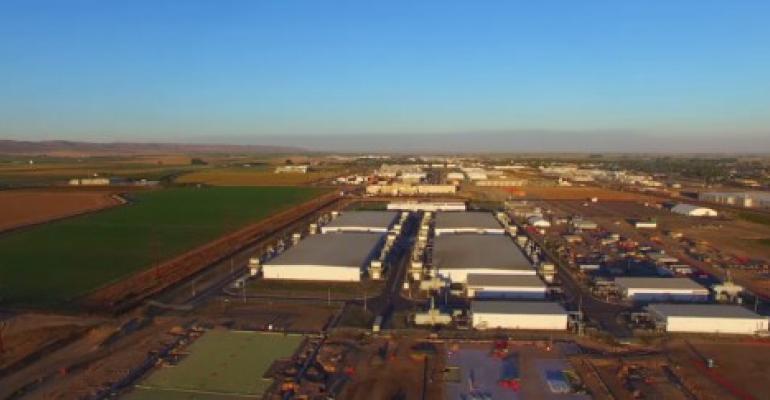 Microsoft data centers in Quincy, Washington
