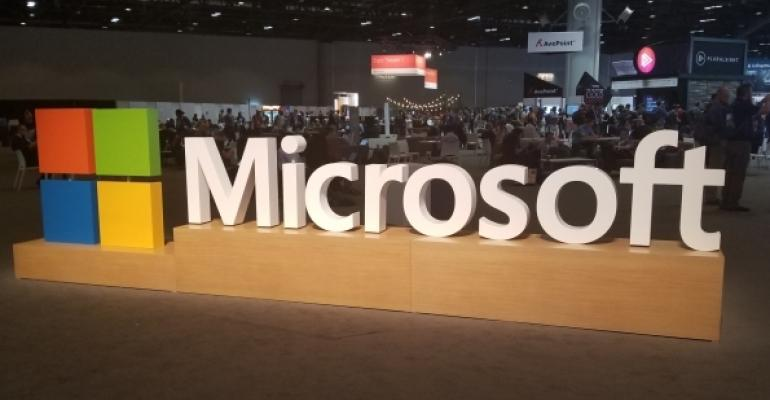 Microsoft Logo Display