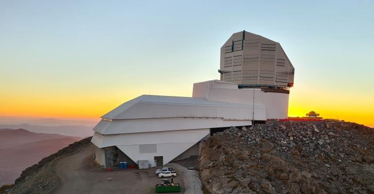 Vera C. Rubin Observatory in Chile