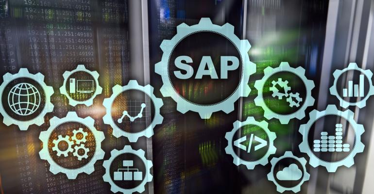 SAP System Software Automation concept on virtual screen data center