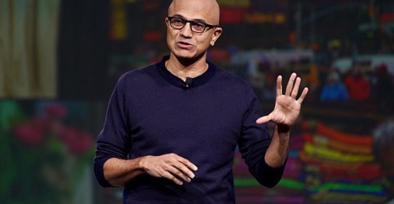 Microsoft's Satya Nadella at NRF 2020 Retail's Big Show conference