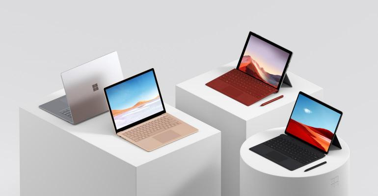 Microsoft Surface Devices Family