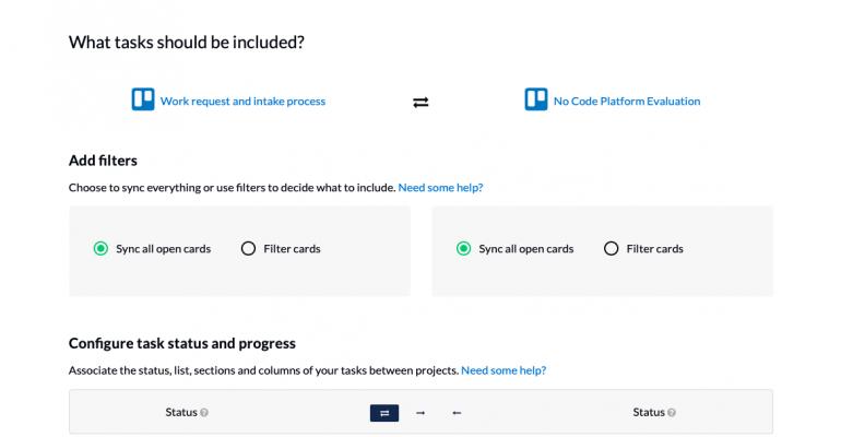 Unito setup - project management tools.png