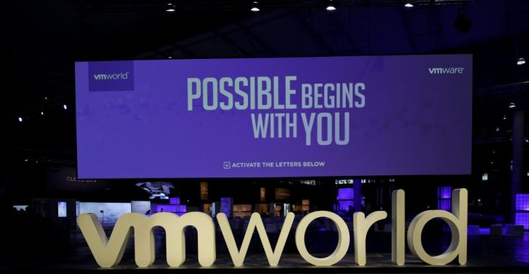VMworld Europe sign