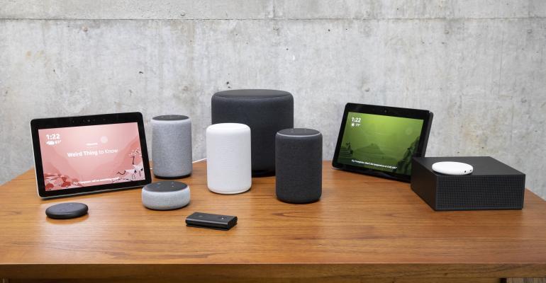 Amazon Alexa product range